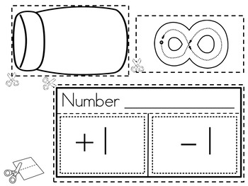 Interactive Math Notebook for Numbers 1-10