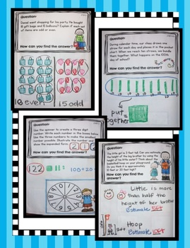Interactive Math Notebook - Second Grade