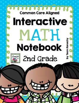 Interactive Math Notebook - Second Grade