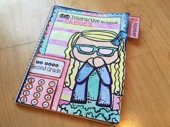Interactive Math Notebook for Second Grade Go Math Chapter 1