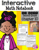 Interactive Math Notebook for Second Grade Go Math Chapter 10