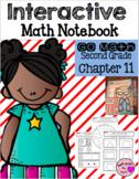 Interactive Math Notebook for Second Grade Go Math Chapter 11