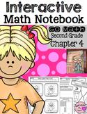 Interactive Math Notebook for Second Grade Go Math Chapter 4
