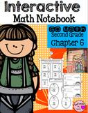 Interactive Math Notebook for Second Grade Go Math Chapter 6