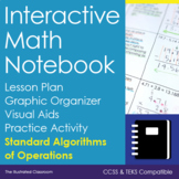 Interactive Math Notebook - Standard Algorithms of Operations