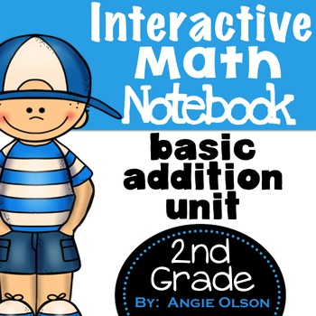 Addition & Subtraction Second Grade Math Notebook Bundle