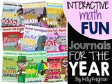Interactive Math Journals 1st Grade BUNDLE