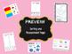 Interactive Math Notebooks - Kindergarten - Sorting and Measurement