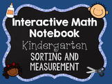 Interactive Math Notebooks - Kindergarten - Sorting and Me