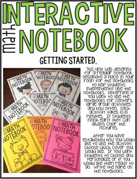 Interactive Math Notebooks Set 2:  Kindergarten Number Sense 11-20