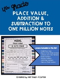 4th Grade Math Notes: Place Value, Addition & Subtraction to Millions