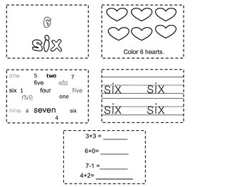 Interactive Math Number Notebook