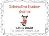 Interactive Math Number Notebook