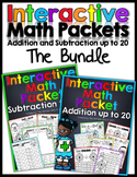 Interactive Math Packet -The Bundle  (Addition and Subtraction up to 20)