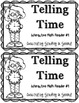 Interactive Math Reader #1-- Telling Time
