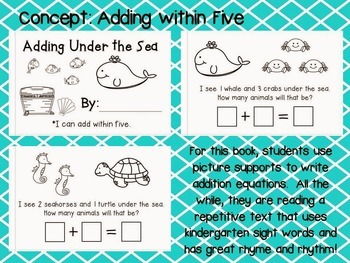 Interactive Math Readers