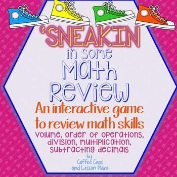 Interactive Math Review Game: 5th Grade Skills~ Sneakin in