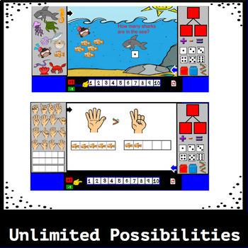 Interactive Math Story Mat: Under the Sea