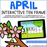 Interactive Ten Frame Math Games April