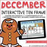 Interactive Math Ten Frame December