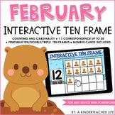 Ten Frame Numbers to 30 February
