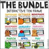 Interactive Ten Frame Math Games The Bundle