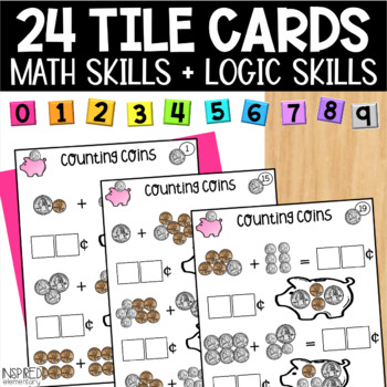 Math Tiles: Counting Coins