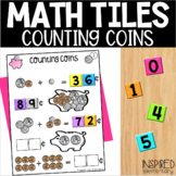 Math Tiles Counting Coins