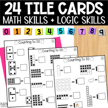 Interactive Math Tiles: Counting to 20
