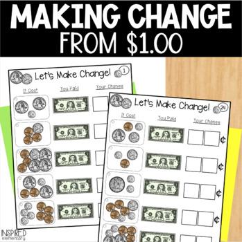 Interactive Math Tiles: Let's Make Change!