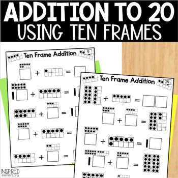 Interactive Math Tiles: Ten Frame Addition