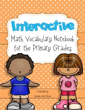 Interactive Math Notebook for the Primary Grades {Common Core Aligned}