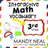 Interactive Math Vocabulary for 3rd Grade