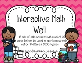 Interactive Math Wall and SCOOT Games