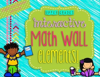 Interactive Math Wall for Upper Grades