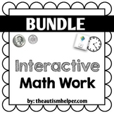 Interactive Math Work Book {BUNDLE}