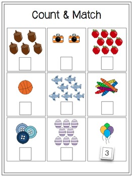 Interactive Math Work Book {Level 1}