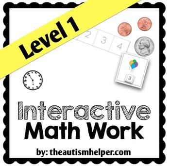 Interactive Math Work Book {Level 1}
