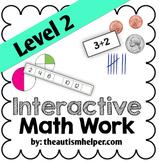 Interactive Math Work Book {Level 2}