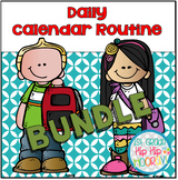 Daily Calendar Routine Bundle!