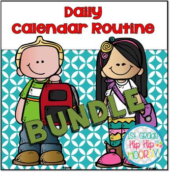 Daily Calendar Routine Bundle!