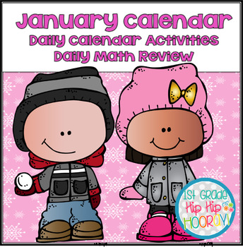 January Daily Calendar/Weather Activities... Math Review a