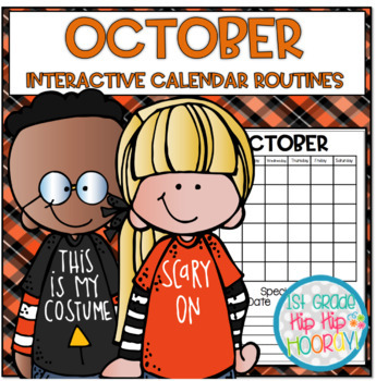 October Daily Calendar/Weather Activities ...  Math Review and Practice