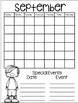 September Daily Calendar/Weather Activities ... Math Review and Practice