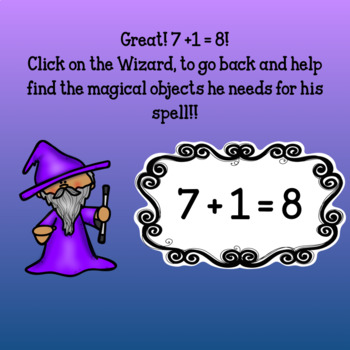 Interactive Math game-Google Slides/PDF-Addition Spooky Spells & Boiling Brews