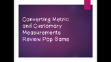 Interactive Measurement Conversion Game
