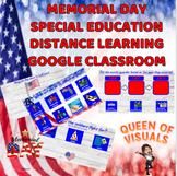 Interactive Memorial Day Special Education Google Classroo