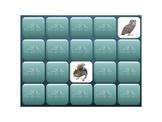 Interactive Memory- Wilderness Animals