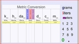 Interactive Metric Conversion