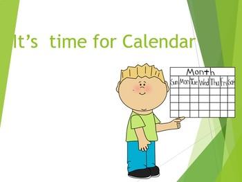 Interactive Mimio: Calendar